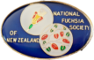 The National Fuchsia Society of New Zealand Inc. Logo